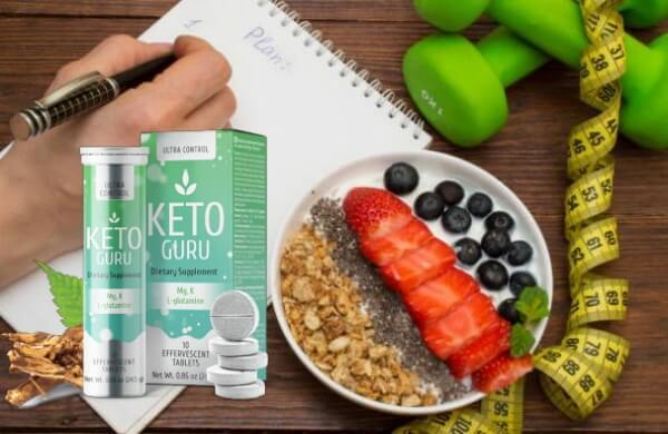 Keto Guru is a ketogenic diet supported weight loss supplement