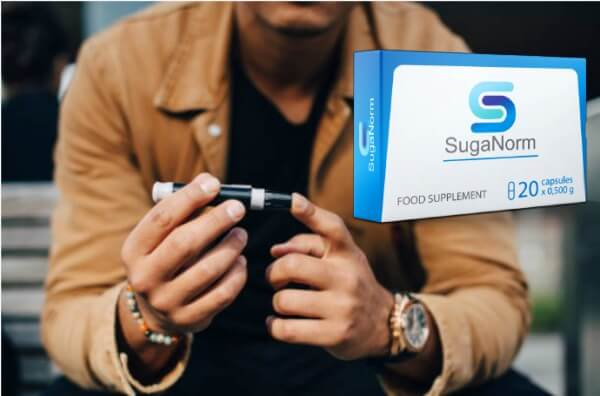 SugaNorm Capsules Normalize Blood Glucose Levels 100% natural supplement