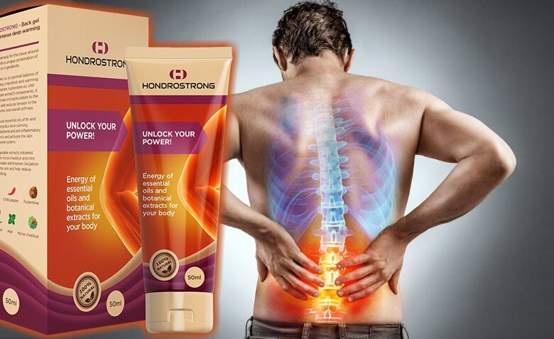 Hondrostrong – Natural Pain Relief Cream for Acute and Chronic Joint, Muscle, Back Pain and All Kinds of Arthritis
